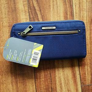 Travelog Zipper wallet